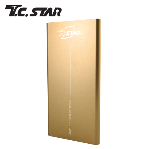 T.C.STAR 7500極致輕薄高效能 行動電源 金