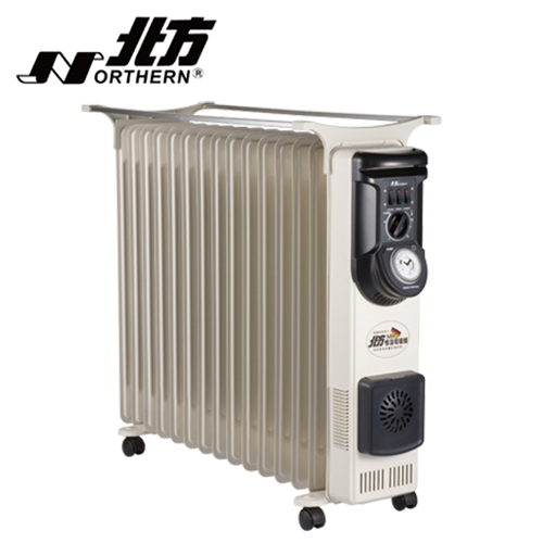 NORTHERN 北方 葉片式電暖器15片 NR-15ZL