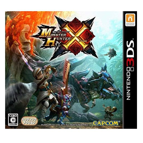 3DS《魔物獵人 X》日版(日規機專用)