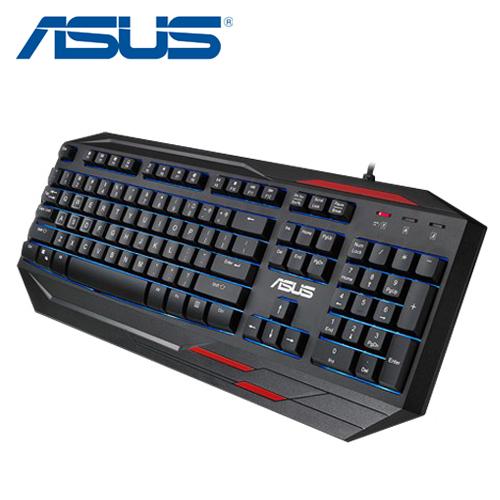 ASUS GK100薄膜式電競鍵盤