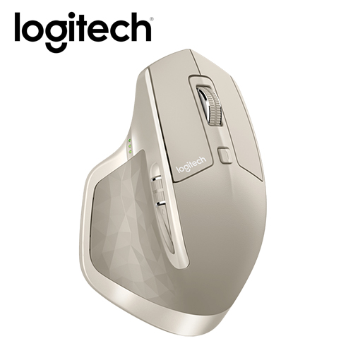 Logitech 羅技 MX MASTER 無線滑鼠-象牙白
