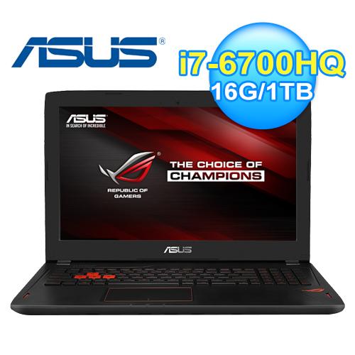ASUS 華碩 GL502VM-0031A 15.6吋 電競筆電