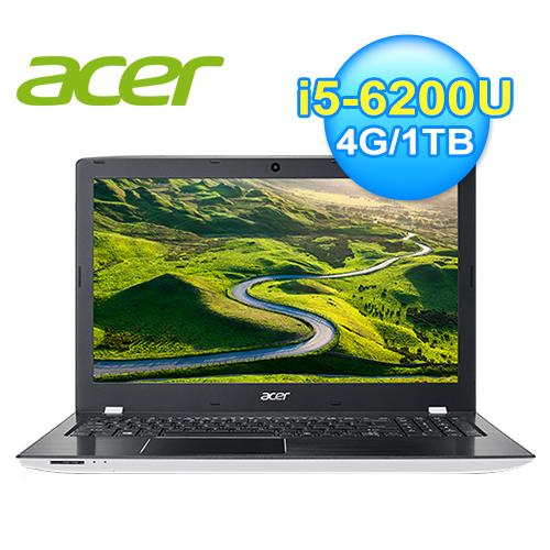 acer 宏碁 E5-575G-54Y1 六代白色筆電