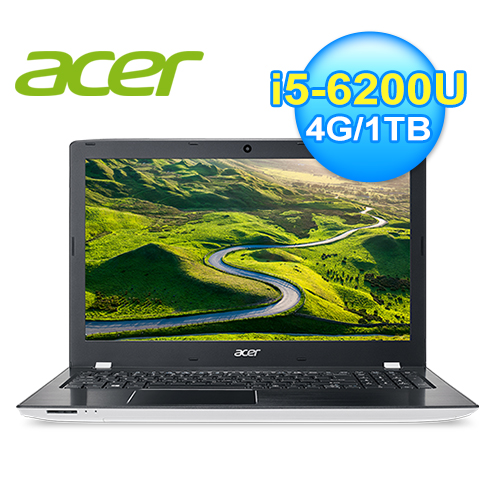 acer 宏碁 E5-575G-54MP 六代白色筆電
