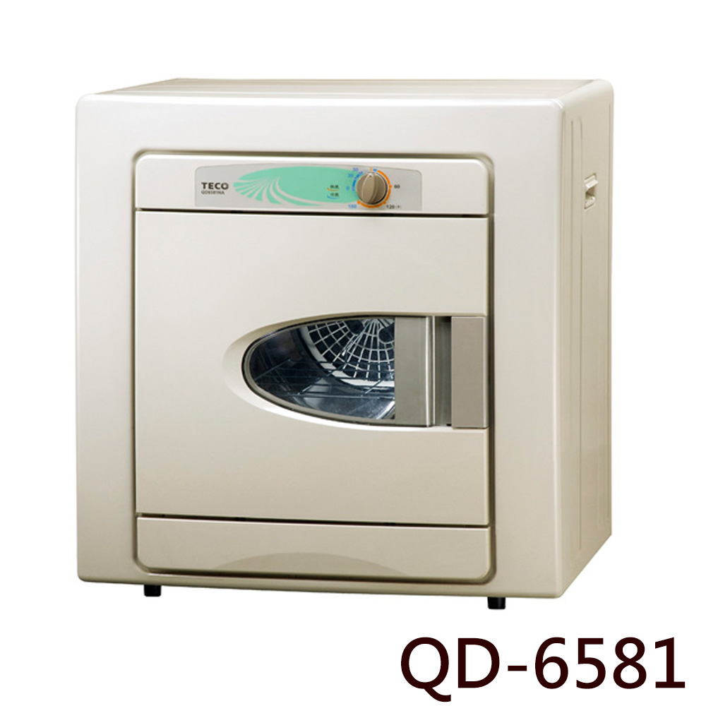 【TECO 東元】6KG乾衣機QD-6581NA