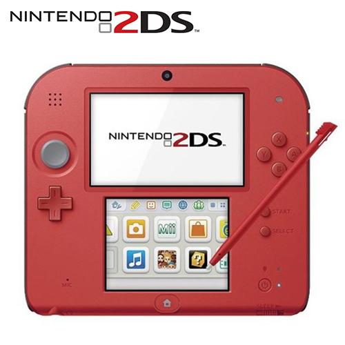 任天堂 N2DS 日規主機 紅色