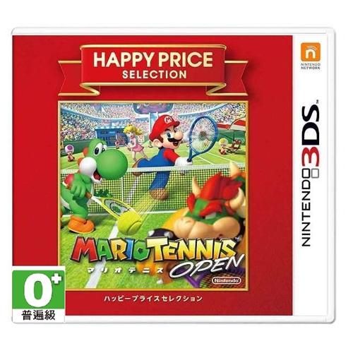 3DS《玛莉欧网球公开赛》BEST 日版 (日规主机专用)
