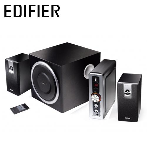 EDIFIER 漫步者 C2 喇叭(三件式 / 黑色) -friDay購物