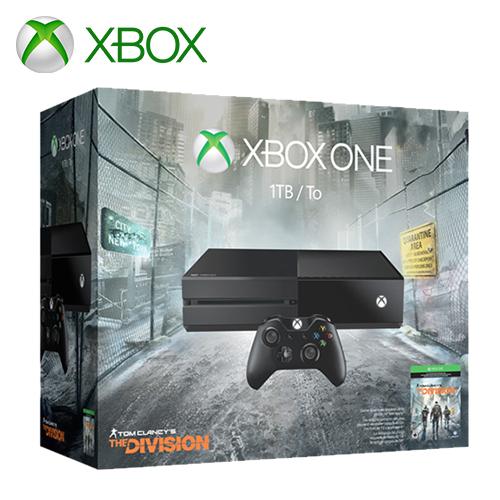 Xbox One 單機版 1TB 全境封鎖同捆組