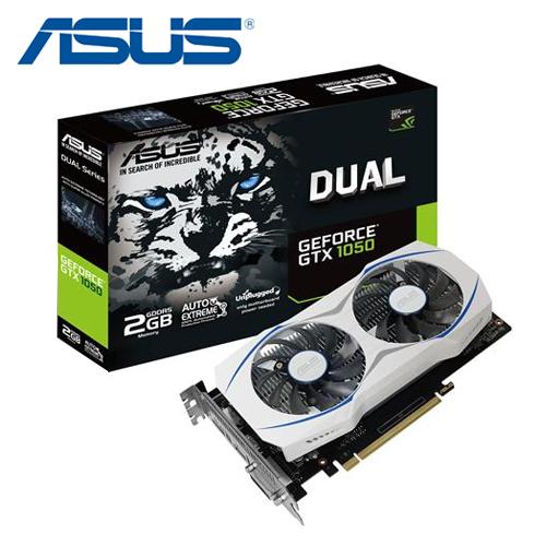 ASUS 華碩 DUAL-GTX1050-2G GAMING 顯示卡