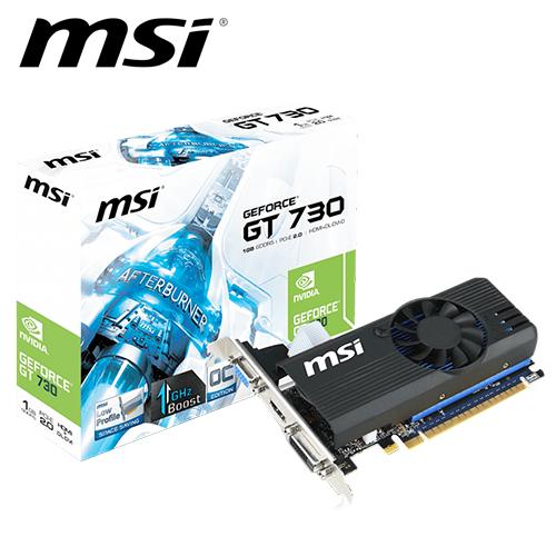 msi 微星 N730K-1GD5LP/OC 顯示卡