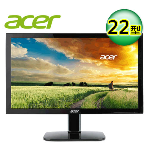 acer 宏碁 KA220HQ 22型 不閃屏瀘藍光螢幕