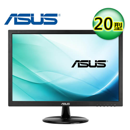 ASUS 華碩 VC209T 20型 IPS 不閃屏 喇叭螢幕