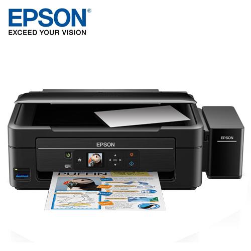 EPSON 愛普生 L485 連續供墨高速複合機