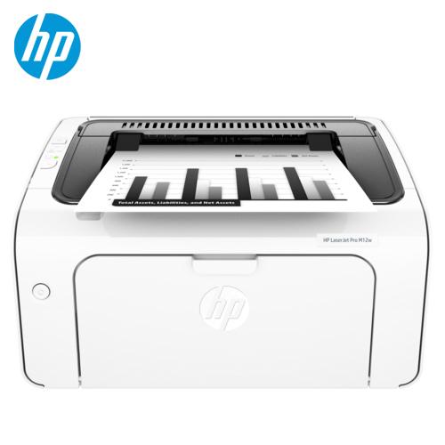 HP 惠普 LJ-Pro M12W 黑白雷射印表機