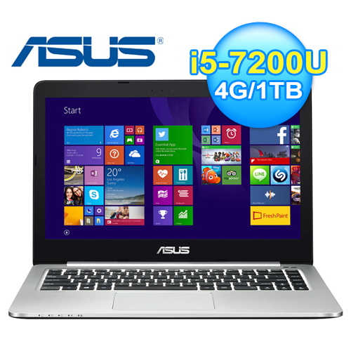 ASUS 華碩 K401UQ-0072A 14吋 獨顯筆電 黑 -friDay購物 x GoHappy