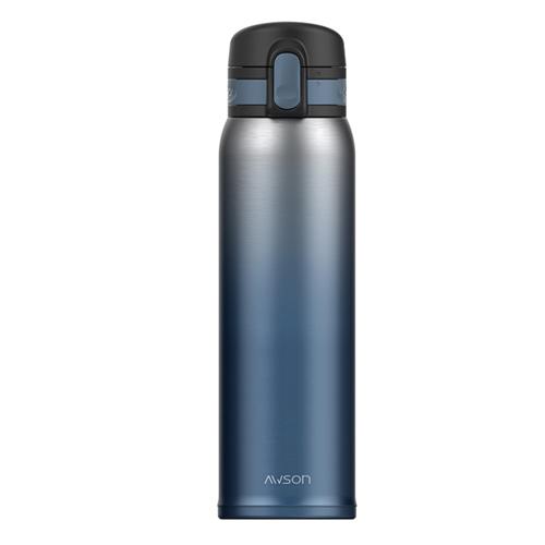 Kinyo 304超輕量不銹鋼杯 AS~M81BU 藍色