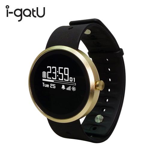 I-GOTU Q-Watch 蓝牙腕式心率智慧健身手表 Q-77HR