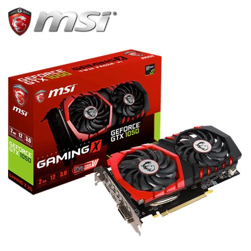 msi 微星 GTX 1050 GAMING X 2G 顯示卡