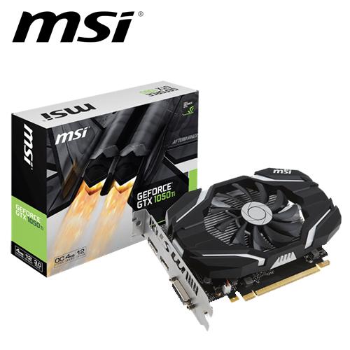 msi 微星 GTX 1050 Ti 4G OC 顯示卡