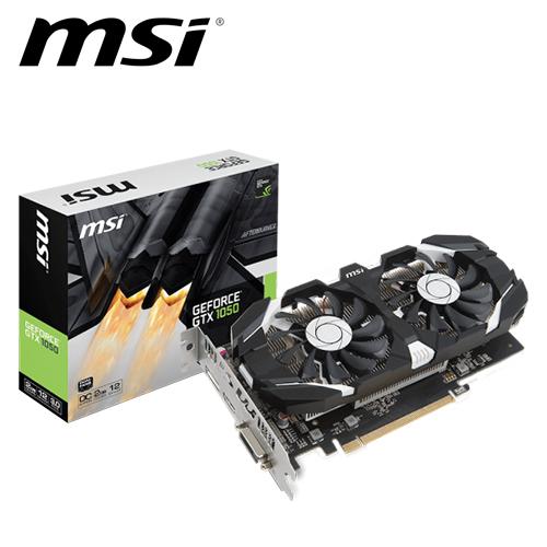 msi 微星 GTX 1050 2GT OC (飙风版)