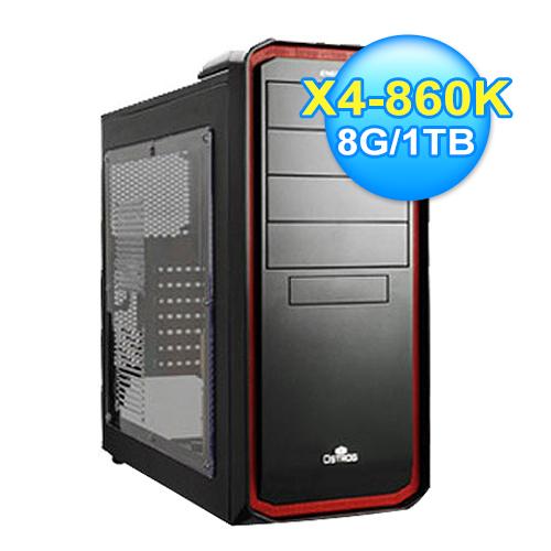 華碩 AMD 四核心電競電腦