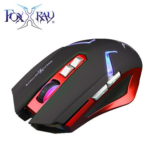 FOXXRAY 雙影獵狐無線雙模電競滑鼠 BMW-RD