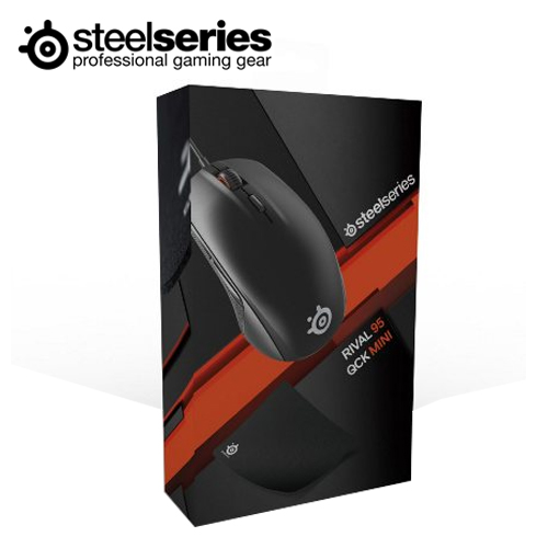 SteelSeries 赛睿 RIVAL 95 鼠标+QCK MINI 鼠标垫 组合包