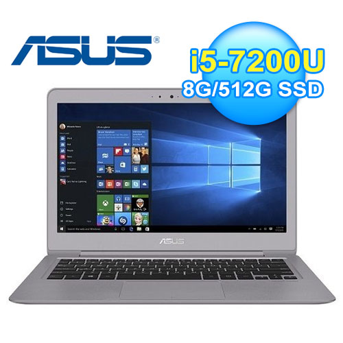 ASUS 華碩 UX330UA-0161A 13.3吋 輕薄筆電 金屬灰