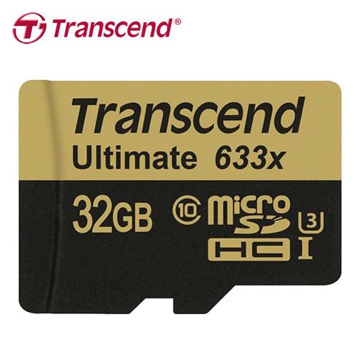 Transcend 創見 TF C10 UHS-I U3 32GB 記憶卡