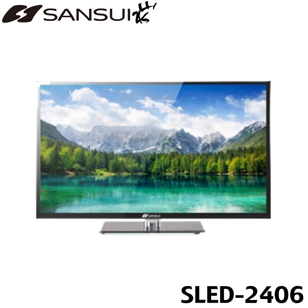【西屋】24吋LED多媒體液晶電視SLED-2406(不含裝)
