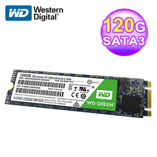 WD 威腾 S120G1G0B 120GB 固态硬盘M.2(绿标)