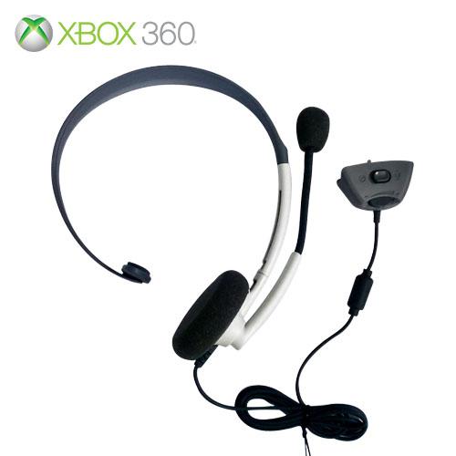 XBOX 360 專用頭戴式耳機麥克風