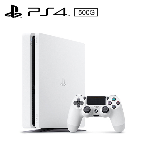 SONY PS4 500G 薄型主機 CUH-2017AB01 白