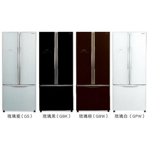 好禮送【HITACHI日立】483L變頻三門對開冰箱RG470(瓷/白/棕)