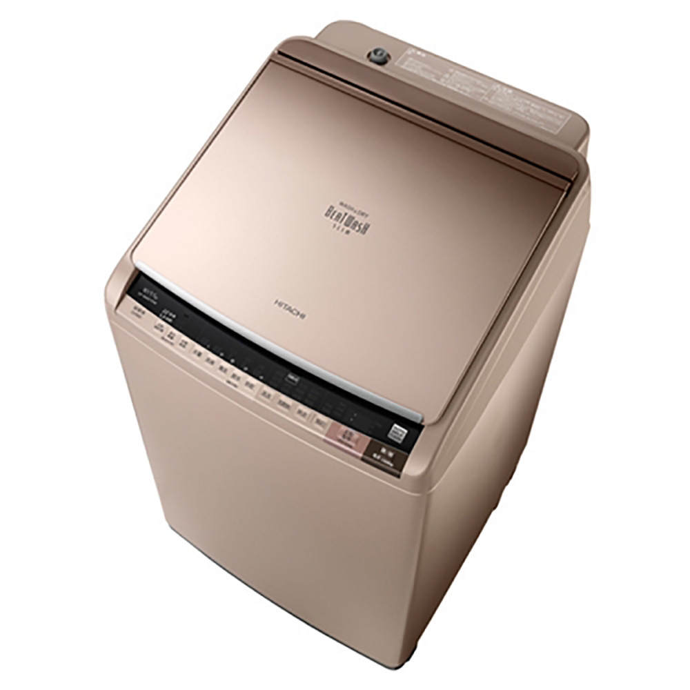 【HITACHI日立】10KG日製變頻直立式洗脫烘洗衣機SFBWD10W