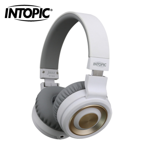 INTOPIC 廣鼎 摺疊藍芽耳機麥克風 JAZZ-BT980-W