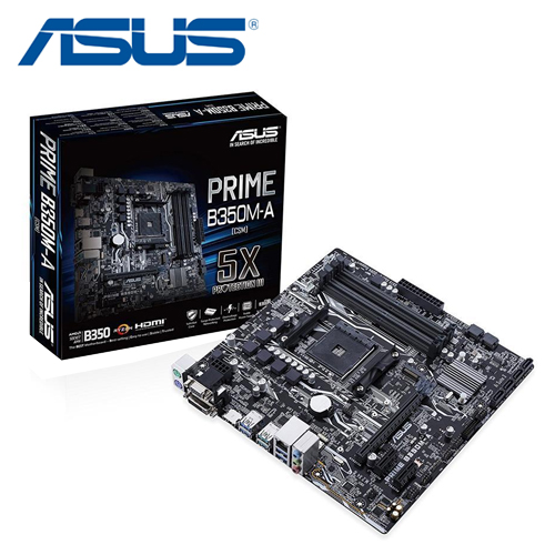 華碩 PRIME B350M-A 主機板