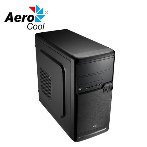 Aerocool QS-182 小型塔式 USB3.0 電腦機殼 黑