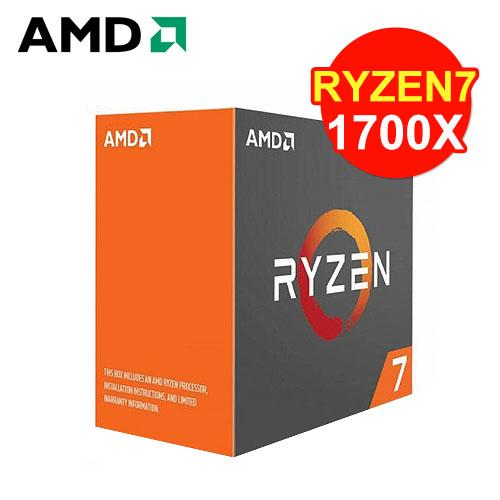 AMD RYZEN 7 1700X 八核心处理器