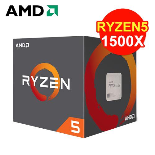 AMD Ryzen 5 1500X 四核心处理器