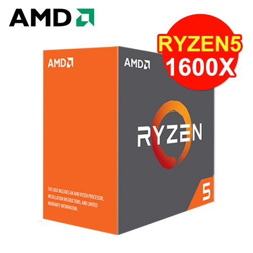 AMD Ryzen 5 1600X 六核心处理器