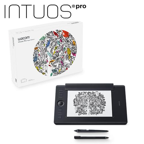 Intuos Pro Medium 雙功能創意觸控繪圖板(PTH-660/K1)