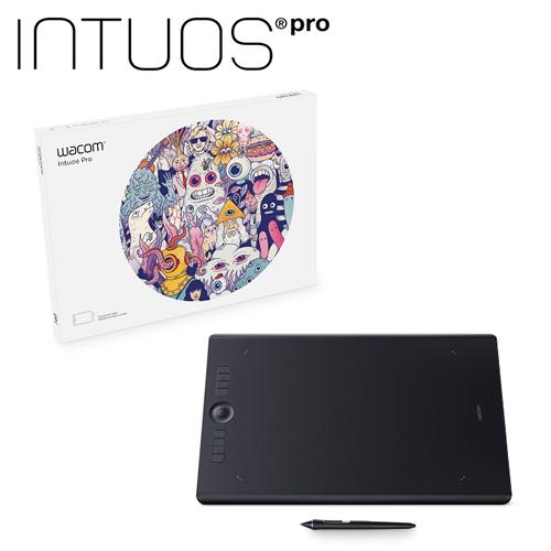 Intuos Pro Large 創意觸控繪圖板(PTH-860/K0)