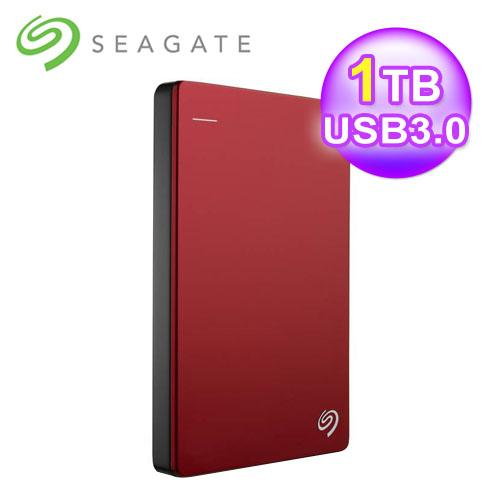 Seagate 希捷 Backup Plus Slim 2.5吋 1TB 外接硬碟 USB