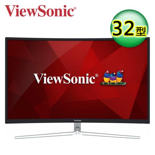 ViewSonic 优派 XG3202-C 32型 VA曲面电竞萤幕