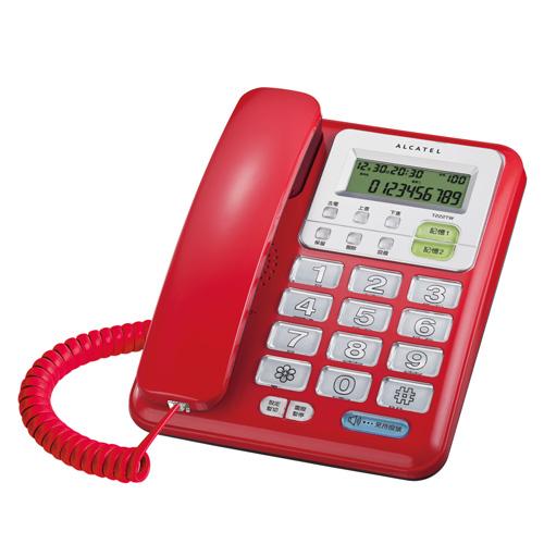 阿尔卡特 有线电话机 T222TW