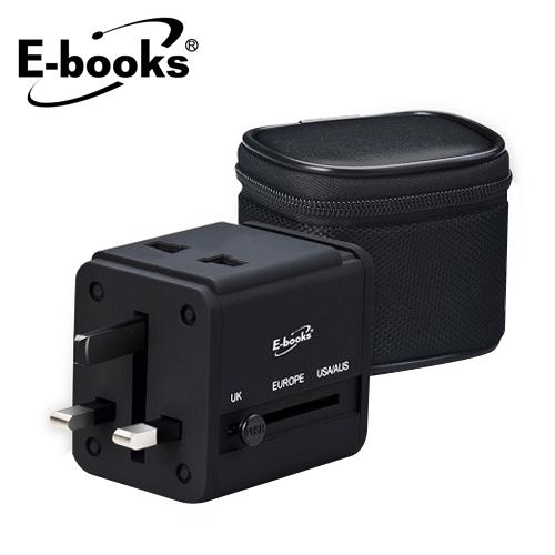 E-BOOKS B27 双孔USB万国充电器
