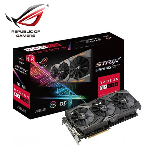 ASUS 華碩 STRIX-RX580-O8G-GAMING 顯示卡
