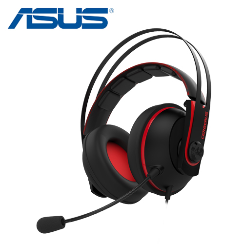 ASUS 華碩 Cerberus 賽伯洛斯 v2 電競耳機 紅